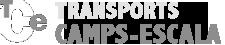 transports Camps-Escala amb cisterna alimentaria